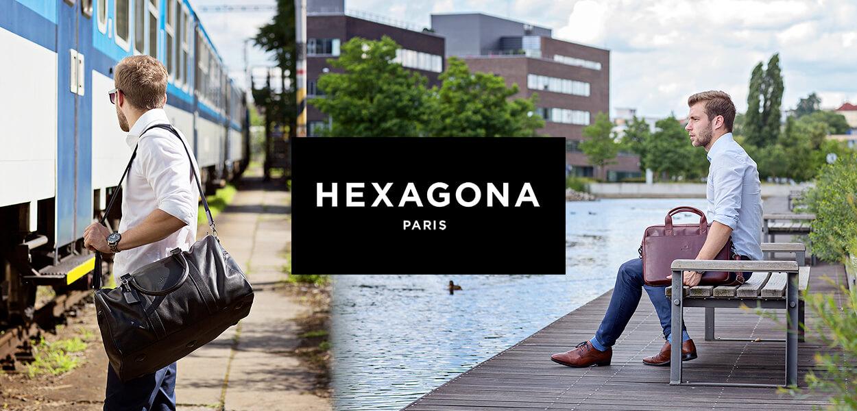 Pánské tašky a peněženky Hexagona