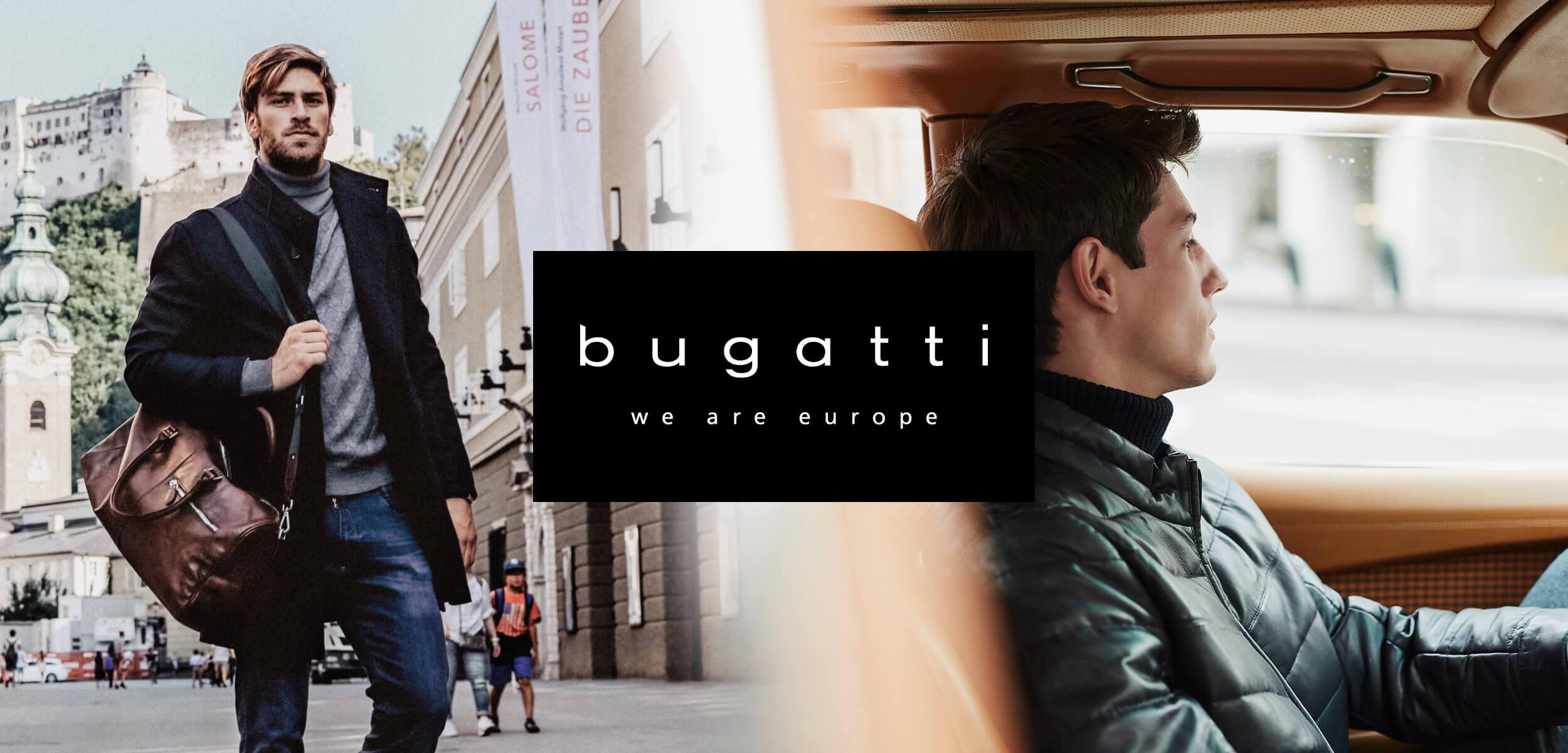 Pánské tašky a peněženky Bugatti