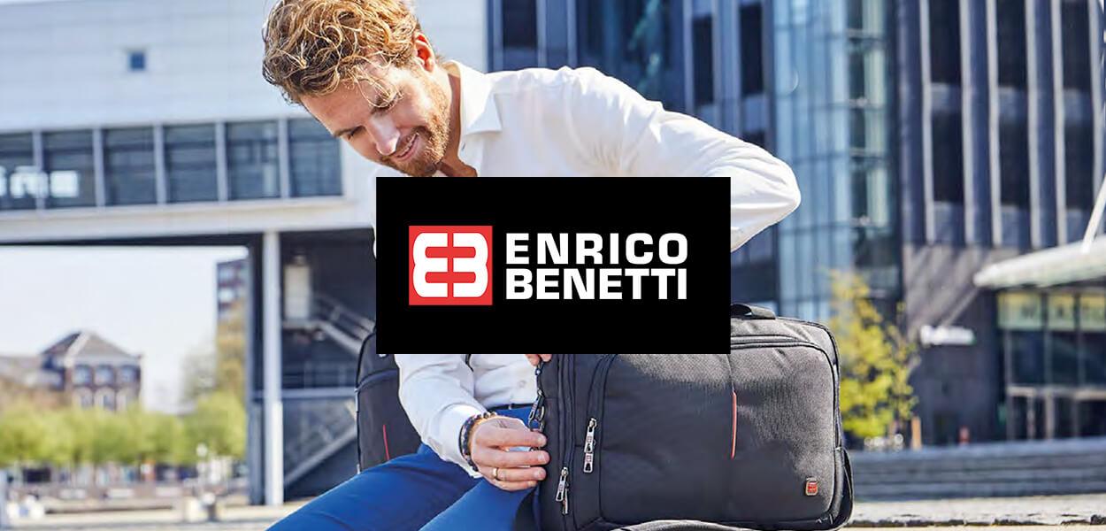 Pánské tašky a peněženky Enrico Benetti