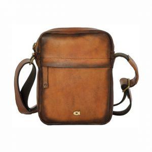 Luxusní pánská kožená taška Daag ALIVE 37 – hnědá 14908