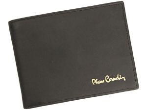 Pánská kožená peněženka Pierre Cardin Marvel – černá 14747