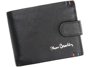 Pánská kožená peněženka Pierre Cardin Joseph – černá 14483