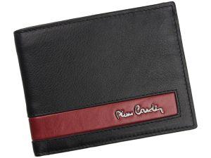 Pánská kožená peněženka Pierre Cardin Roger – černo-červená 14478