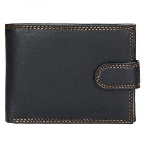 Pánská kožená peněženka SendiDesign Risto – černá 14369