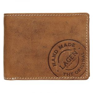 Pánská kožená peněženka Lagen Jerone – hnědá 14363