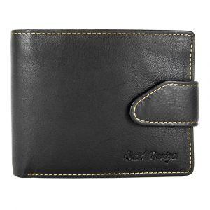 Pánská kožená peněženka SendiDesign 7001 – černá 14283