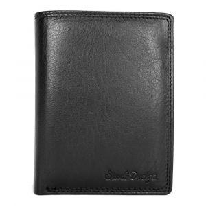 Pánská kožená peněženka SendiDesign 321 – černá 14278