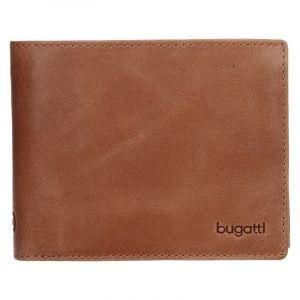 Pánská kožená peněženka Bugatti Rodrigo – světle hnědá 14277
