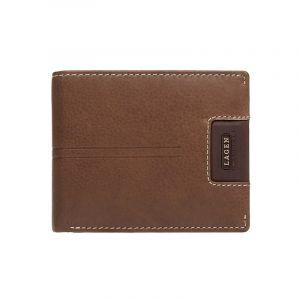 Pánská kožená peněženka Lagen Rolanos – hnědá 14254
