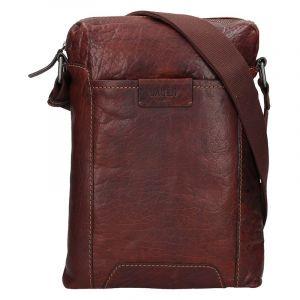 Pánská taška přes rameno Lagen Frederik – světle hnědá 14180