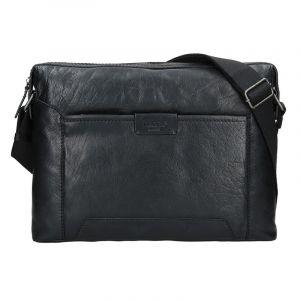 Pánská taška přes rameno Lagen Pierce – černá 14174