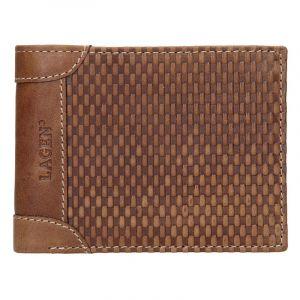 Pánská kožená peněženka Lagen Chris – koňak 14164