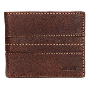 Pánská kožená peněženka Lagen Andor – hnědá 14154