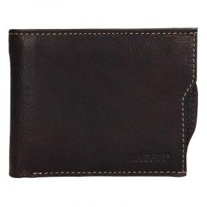 Pánská kožená peněženka Lagen Elias – tmavě hnědá 14150