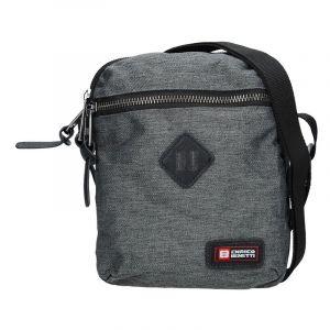 Pánská taška přes rameno Enrico Benetti Paolle – šedá 14140
