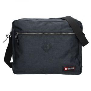 Pánská taška přes rameno Enrico Benetti Montain – černá 14137