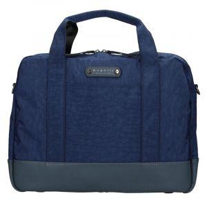 Pánská taška přes rameno Bugatti Bern – modrá 14075