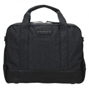 Pánská taška přes rameno Bugatti Bern – černá 14074