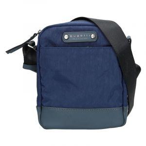Pánská taška přes rameno Bugatti Marc – modrá 14062