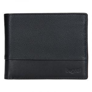 Pánská kožená peněženka Bugatti Kurt – černá 14055