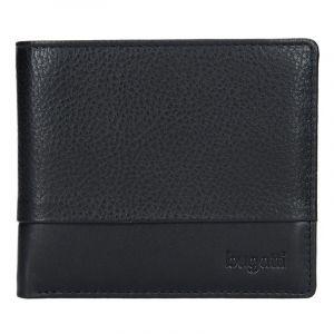 Pánská kožená peněženka Bugatti Gustav – černá 14054