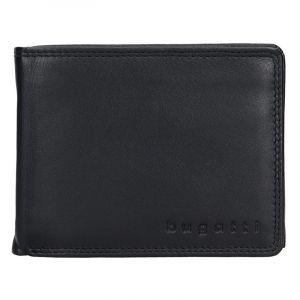 Pánská kožená peněženka Bugatti Werner – černá 14049