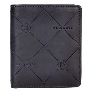 Pánská kožená peněženka Bugatti Heinrich – černo-šedá 14046
