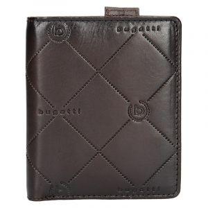 Pánská kožená peněženka Bugatti Heinrich – tmavě hnědá 14045