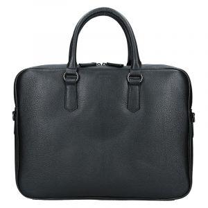 Pánská business taška přes rameno Hexagona Pablo – černá 14042