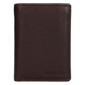 Pánská kožená peněženka SendiDesign Martin – hnědá 13744