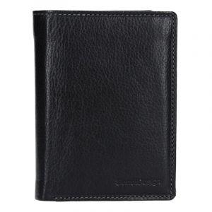 Pánská kožená peněženka SendiDesign Martin – černá 13743