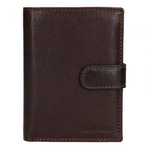 Pánská kožená peněženka SendiDesign Antonio – hnědá 13742
