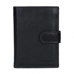 Pánská kožená peněženka SendiDesign Antonio – černá 13738