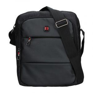 Pánská taška přes rameno Enrico Benetti Ferenc – černá 13716