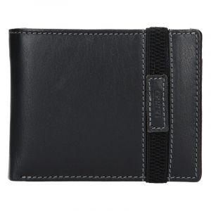Pánská kožená peněženka Lagen Dylan – černá 13650