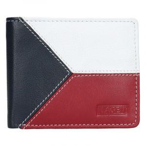 Pánská kožená peněženka Lagen Trikolora 13647