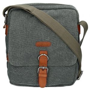 Pánská taška Katana Marco – šedo-zelená 13543