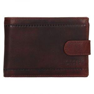 Pánská kožená peněženka Lagen Evron – hnědá 13463