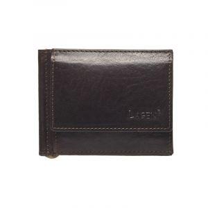 Pánská kožená peněženka Lagen Dolarro – tmavě hnědá 13446