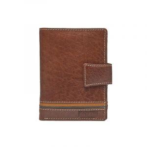 Pánská kožená peněženka Lagen Agustus – hnědá 13445