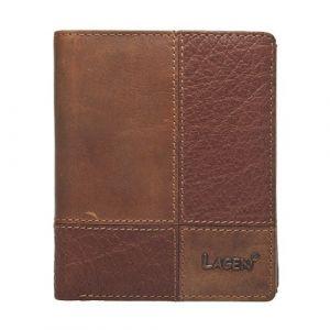 Pánská kožená peněženka Lagen Apolo – hnědá 13398