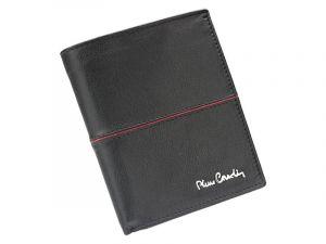 Pánská kožená peněženka Pierre Cardin Maxmilian – černo-červená 13323
