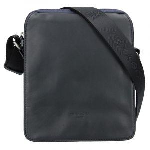 Pánská taška přes rameno Hexagona 299162 – černo-modrá 13267