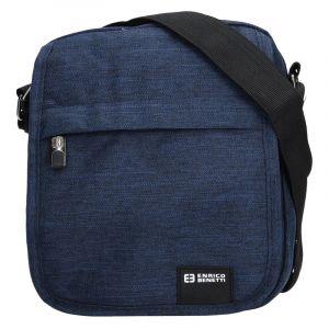 Pánská taška na doklady Enrico Benetti Mojmír – modrá 13198