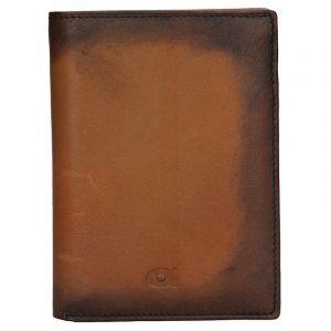 Pánská kožená peněženka Daag Alive P01 – koňak 13131