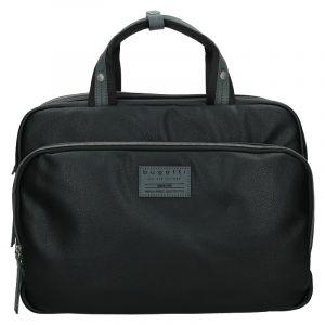 Pánská taška přes rameno Bugatti Moto DW – černá 13112