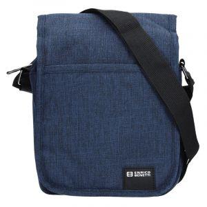 Pánská taška na doklady Enrico Benetti Niels – modrá 13057