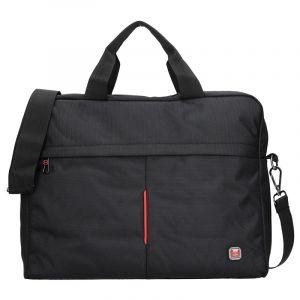 Pánská taška přes rameno Enrico Benetti Rider – černá 13027