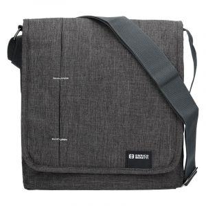 Pánská taška přes rameno Enrico Benetti Eric – šedá 13020