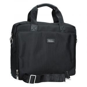 Pánská kožená taška přes rameno Katana Selem – černá 12990